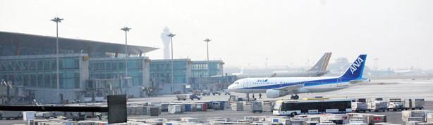 Airport gates